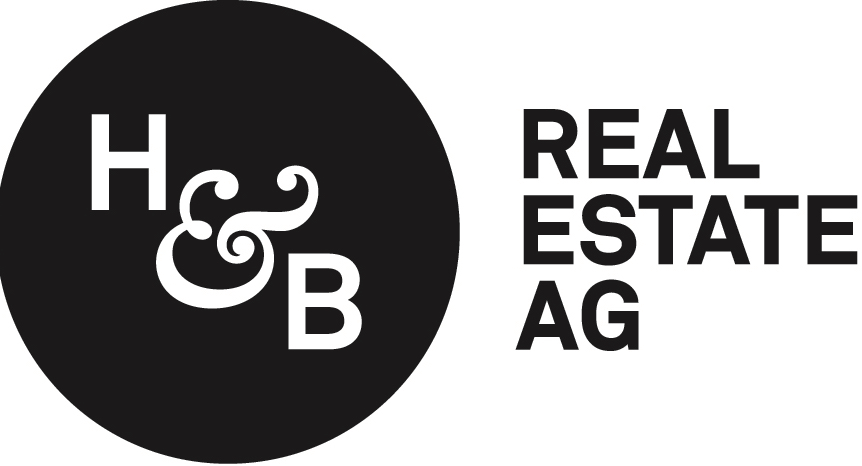 h and b real estate ag logo