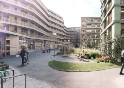 Neubauprojekt Zwicky Riedgarten