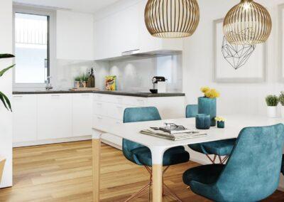 Neugstadig Küche und Wohnen