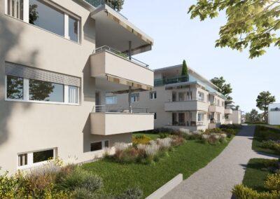 Neubauprojekt Bachperle Mettmenstetten