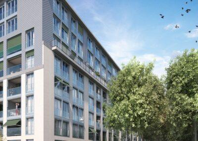 Neubauprojekt Wohnwerk Winterthur
