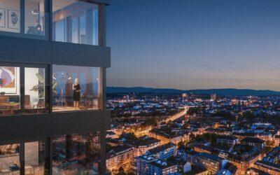Neubauprojekt Claraturm