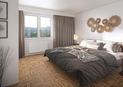 Schlafzimmer Obernau 86