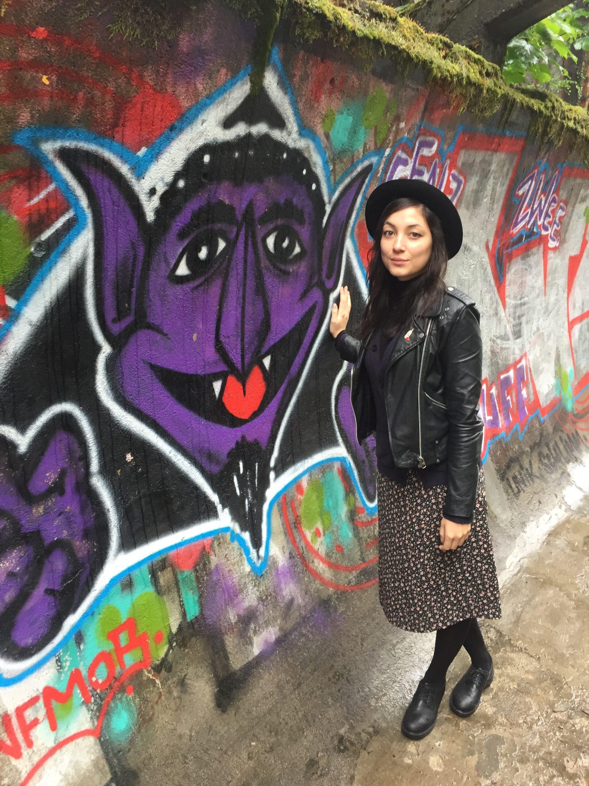 Sarah Zulauf auf Reisen in Sarajevo